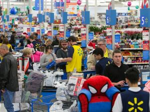 Walmart's online revenue rose by 50 percent in the last fiscal quarter.