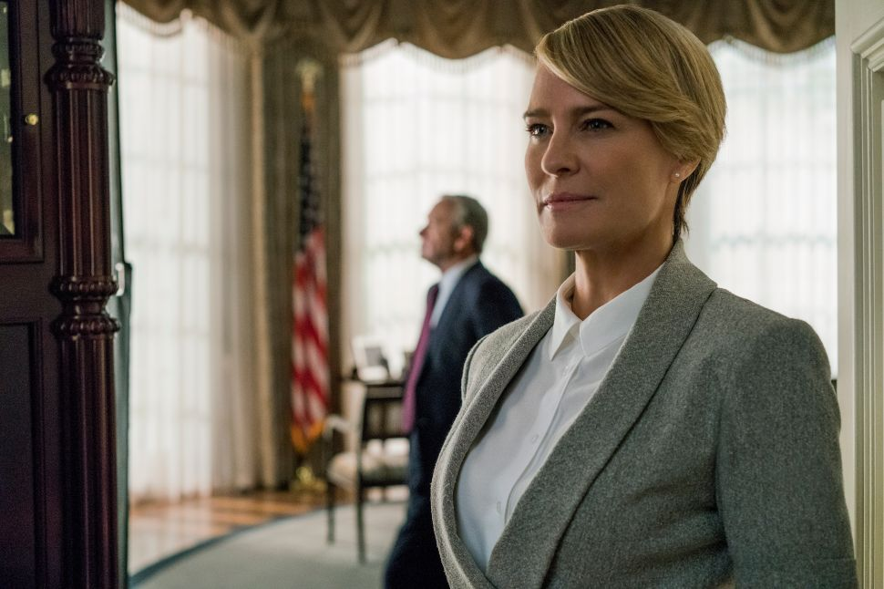 Trump Who? An Exclusive Interview With President Claire Underwood