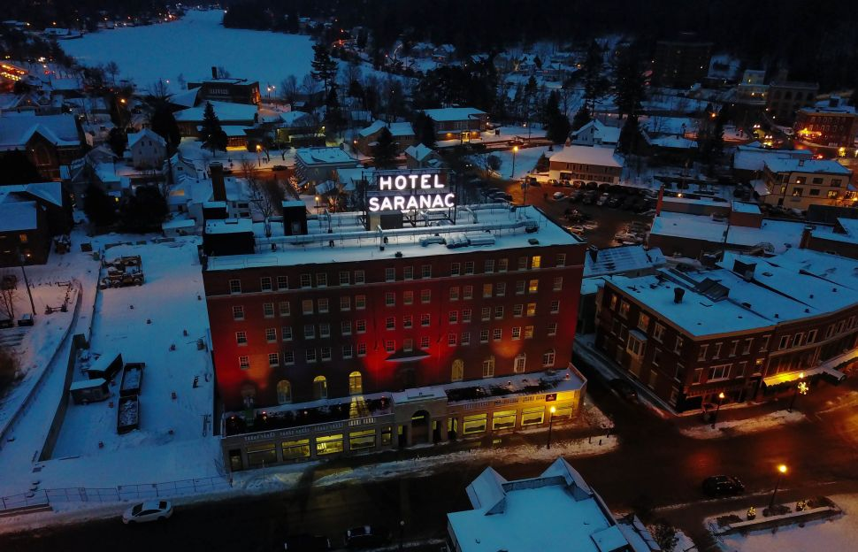 Hotel Saranac Offers a New York City Getaway With Gilded Age Glory