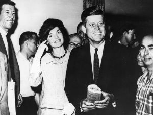 John F. Kennedy and Jackie Kennedy first met at this townhouse.