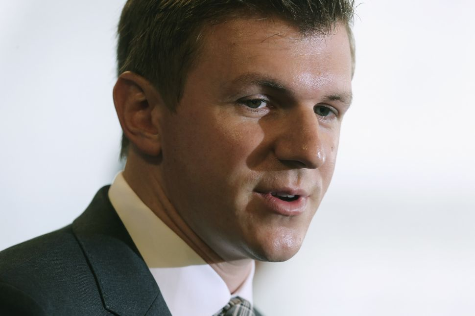James O'Keefe Is Weighing a Defamation Lawsuit Against The Washington Post