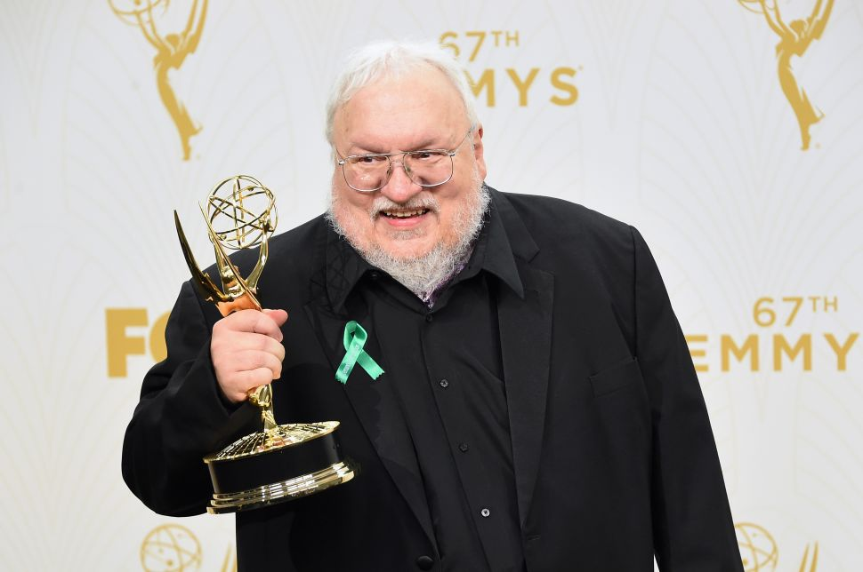 George R.R. Martin Offers Update on 'The Winds of Winter'