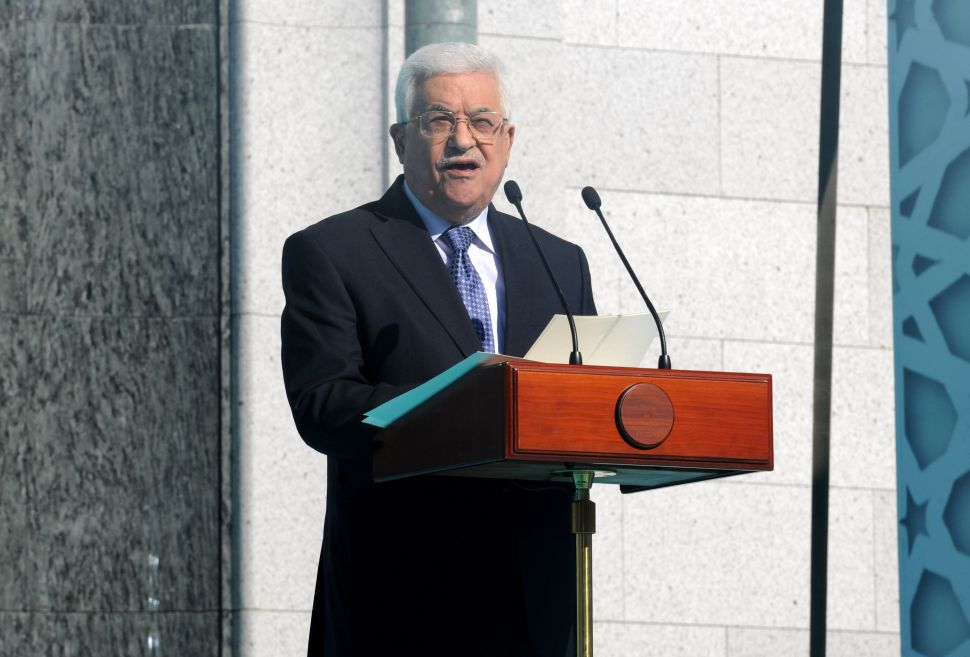 Palestinian President Angles to Draft Putin as Peace Process Frontman