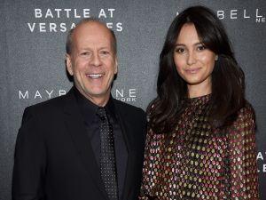 Bruce Willis and Emma Heming Willis.