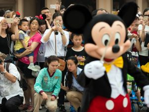 Disney has a long and winding history in the China market.