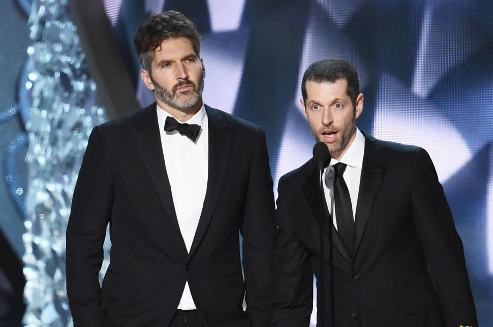 'Game of Thrones' Showrunners to Write/Produce Series of New 'Star Wars' Films