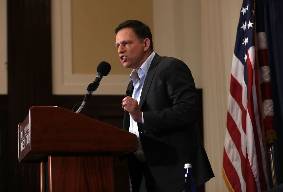 Here's Why Peter Thiel Is Leaving Silicon Valley