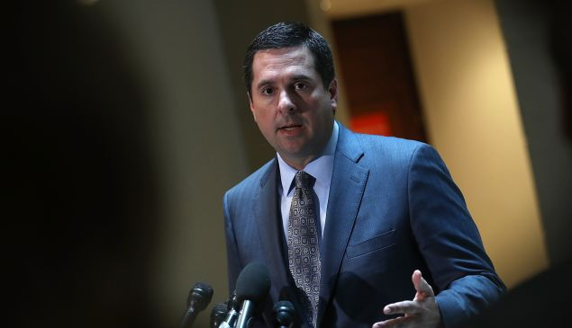 Rep. Devin Nunes (R-CA), chairman of the House Permanent Select Committee on Intelligence.