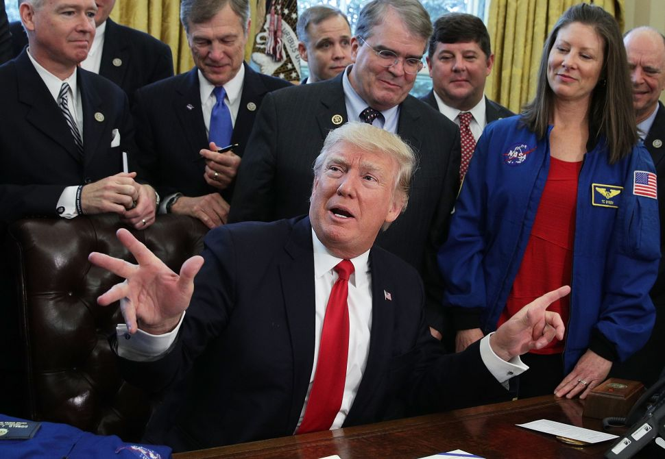 Trump Budget Would Privatize the International Space Station, Make NASA a 'Customer'