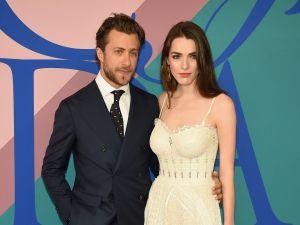 Francesco Carrozzini with his fiancée, Bee Shaffer.