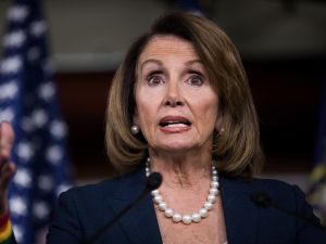 House Minority Leader Nancy Pelosi (D-CA).