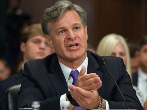 FBI Director Christopher Wray.