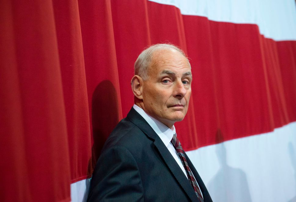 John Kelly's Immigrant Bashing Lands Him in Hot Water