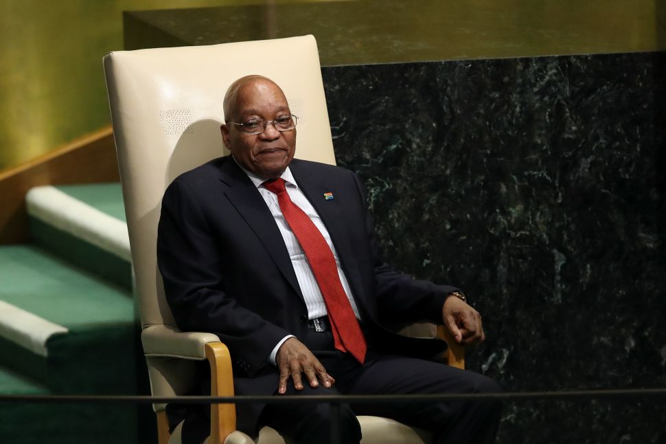 Walls Close in on South African President as He Defies Efforts to Oust Him
