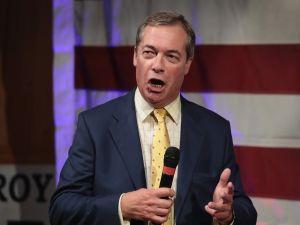 British politician Nigel Farage.