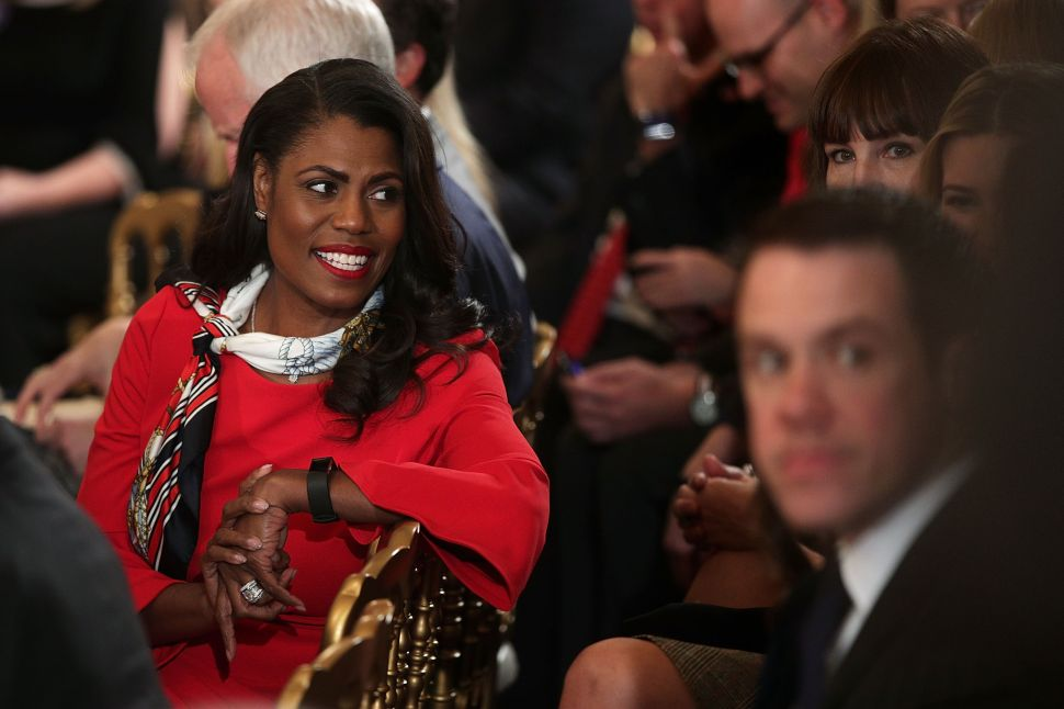 Omarosa Returns to Reality TV, Warns That America 'Is Not Going to Be OK'