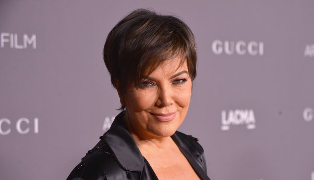 Kris Jenner had a minor mishap with Chrissy Teigen's table.