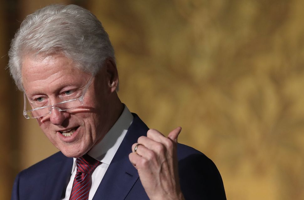 Democrats Distance Themselves From Bill Clinton Ahead of 2018 Midterms