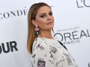 Drew Barrymore is on the move.