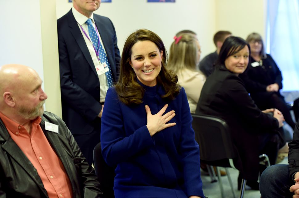 In a Relatable Royal Moment, Kate Middleton's Heel Got Stuck in a Grate