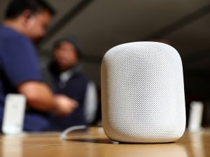 The Apple HomePod.