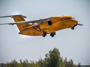 A Saratov Airlines aircraft.