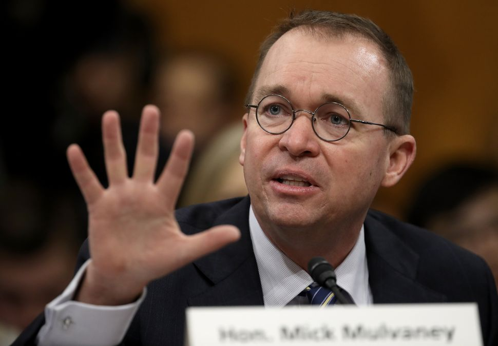 Mick Mulvaney Explains Which Obama Era Initiatives Are Hardest to Repeal