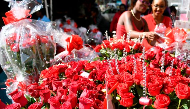 Americans will spend $2 billion on flowers for Valentine's Day this year.