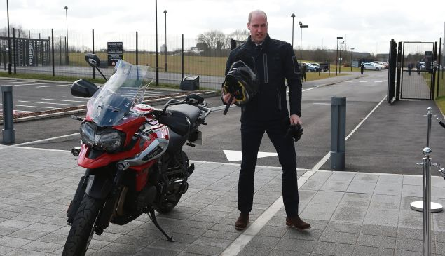 prince william motorcycle