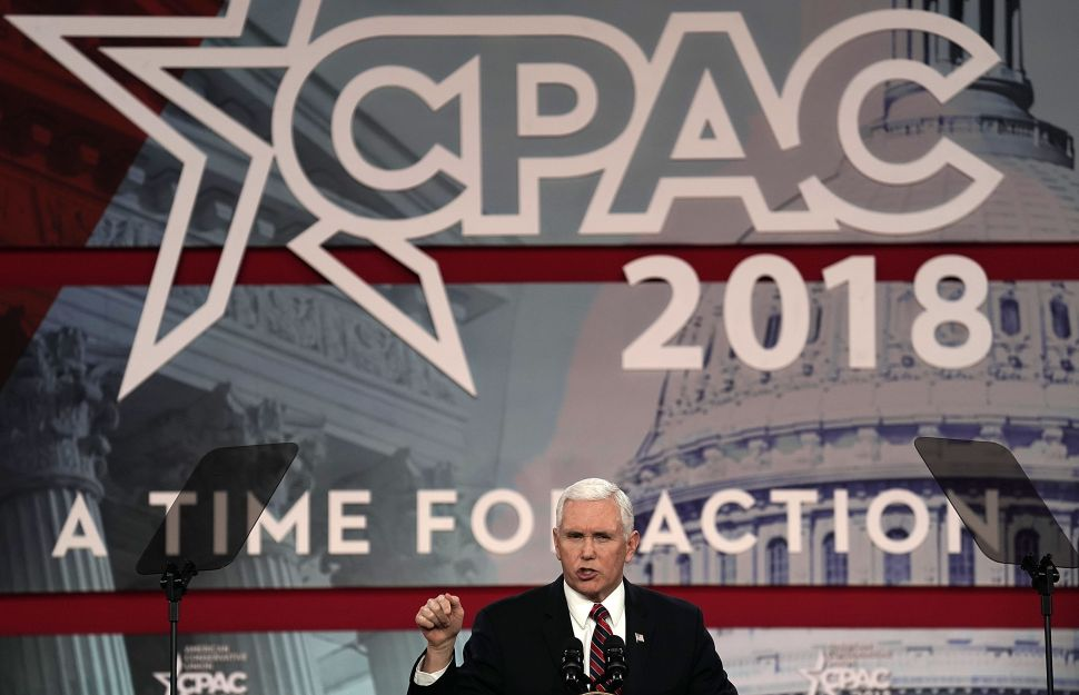 Mike Pence Takes Shots at NFL and Planned Parenthood at CPAC