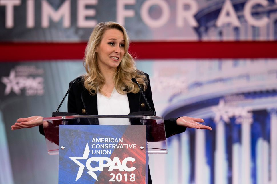 French Nationalist Marion Maréchal-Le Pen Rallies CPAC Support