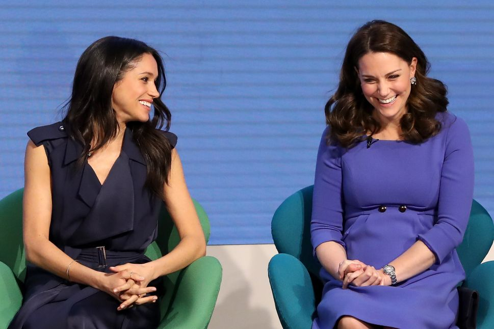 Meghan Markle Breaks Royal Protocol By Talking #MeToo and Time's Up