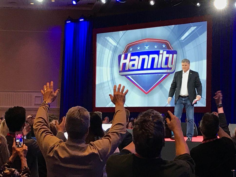 Sean Hannity, Tomi Lahren and Sebastian Gorka Court College Republicans at CPAC