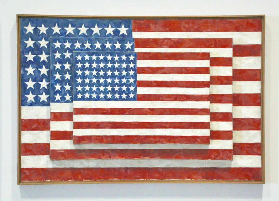 Why People Still Get Worked Up About Jasper Johns's 'Flag' Painting