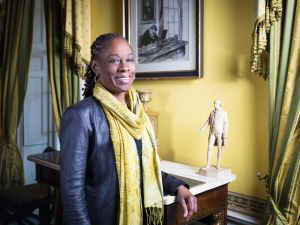 First Lady Chirlane McCray at Gracie Mansion.