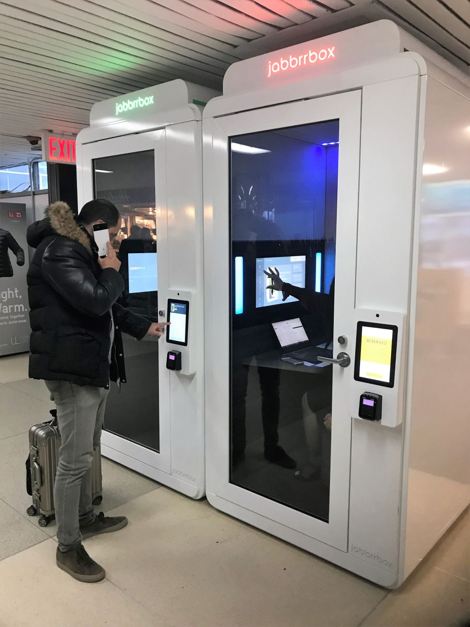 Why the 'Zipcar for Travel' Installed 8 Office Pods in LaGuardia Airport