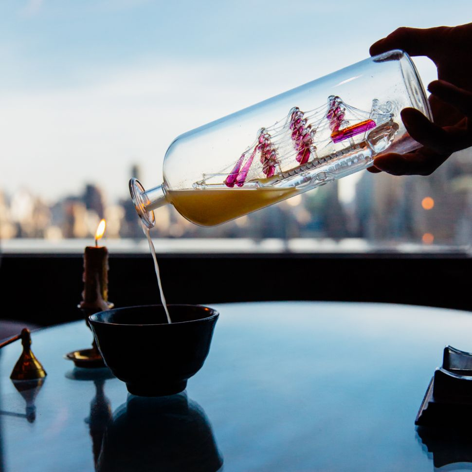 The Newest Nightlife Trend in NYC? Omakase Style Cocktail Bars