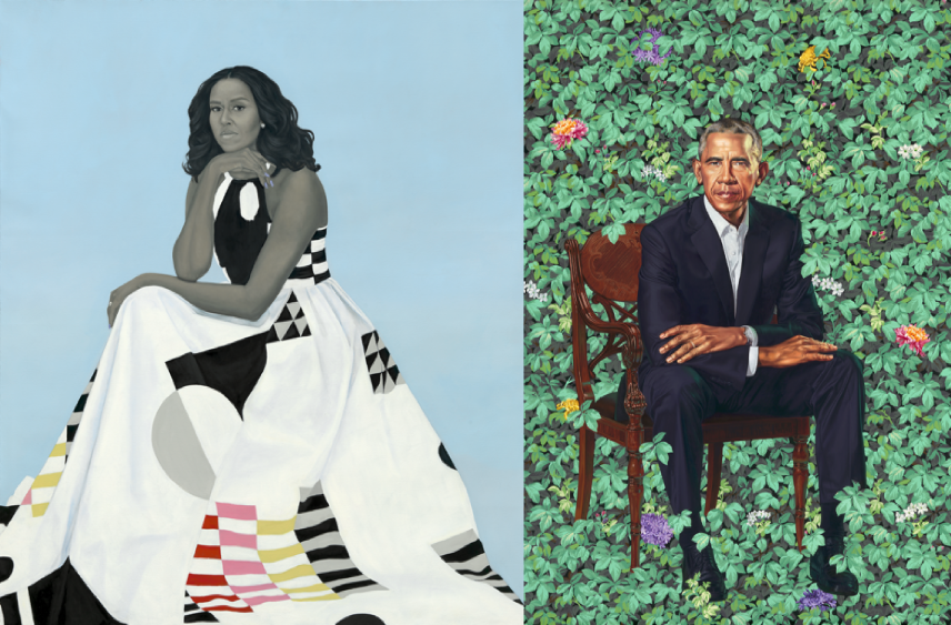 What Critics Are Saying About the Obamas' Official Portraits