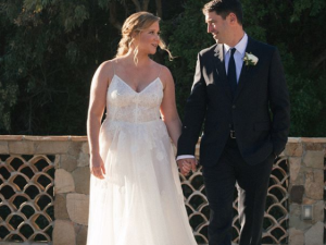 Amy Schumer secretly married chef Chris Fischer before Valentine's Day.