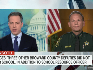 Jake Tapper interviews Sheriff Israel on State of the Union.
