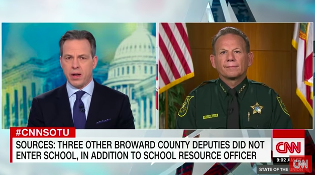 Jake Tapper Grills Florida Sheriff, Continues Impressive Streak of Parkland Coverage