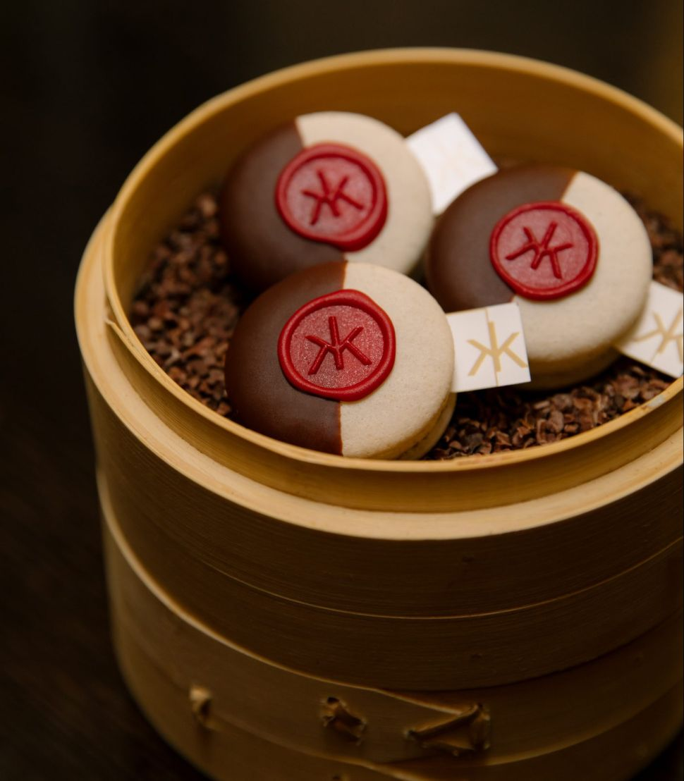 Try Hakkasan's Macartune, a Fortune Cookie and Macaron Hybrid