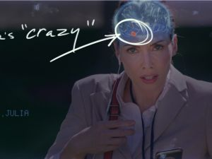 Whitney Cummings in The Female Brain.