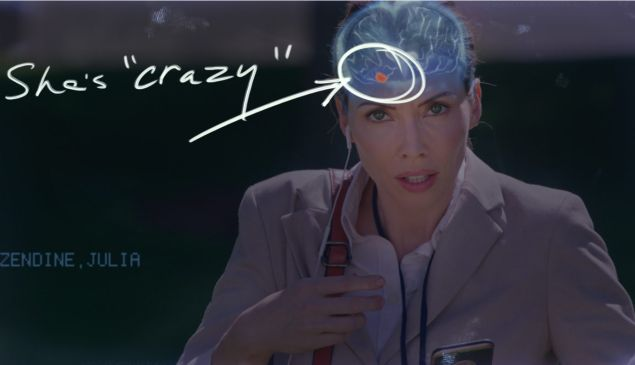 Whitney Cummings in The Female Brain.