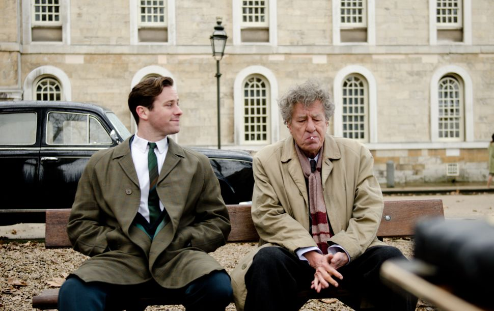 Geoffrey Rush and Armie Hammer Show Off Different Talents in 'Final Portrait'