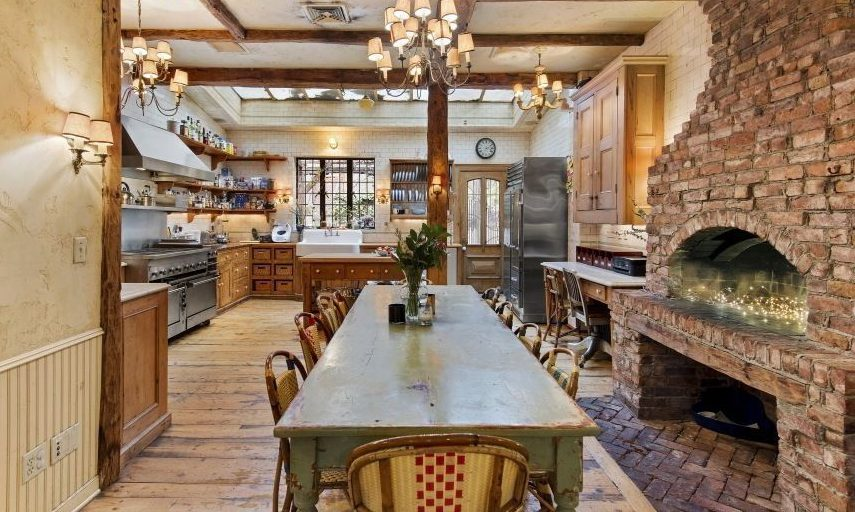 Keith McNally's Charming Greenwich Village Home Has the Perfect Kitchen