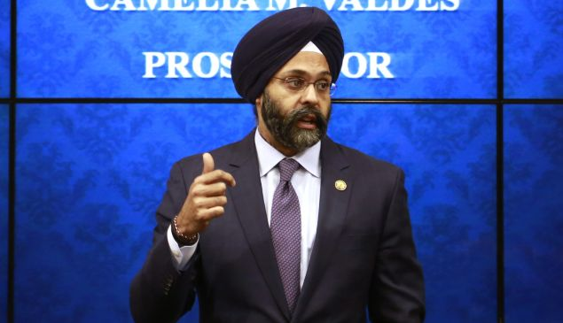 New Jersey State Attorney General Gurbir Grewal