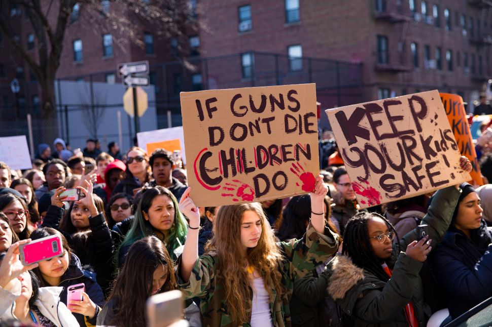 NYC Students Take on the NRA During Walkout Against Gun Violence