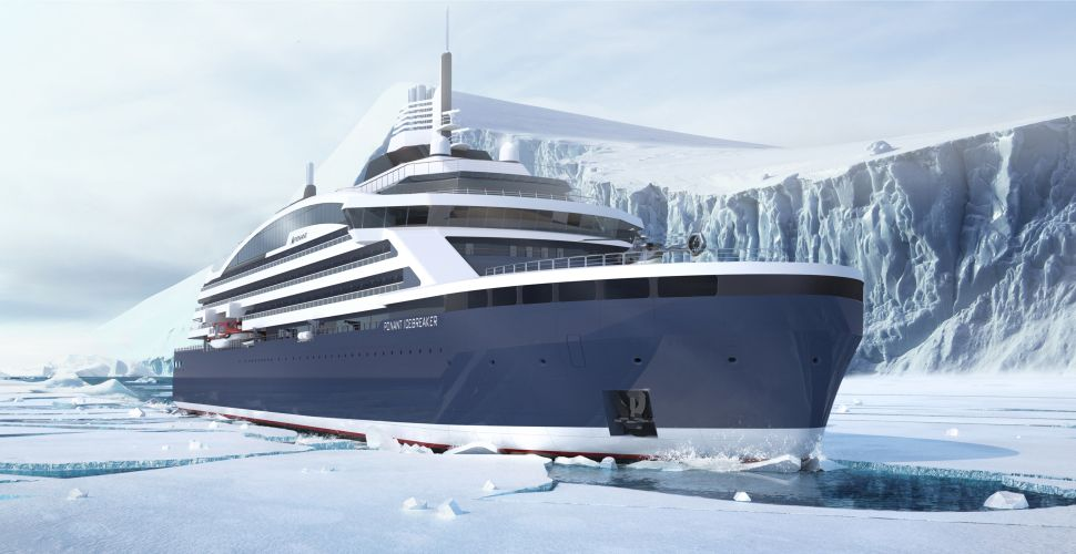 This Icebreaking North Pole Cruise Will Also Serve Fine French Food