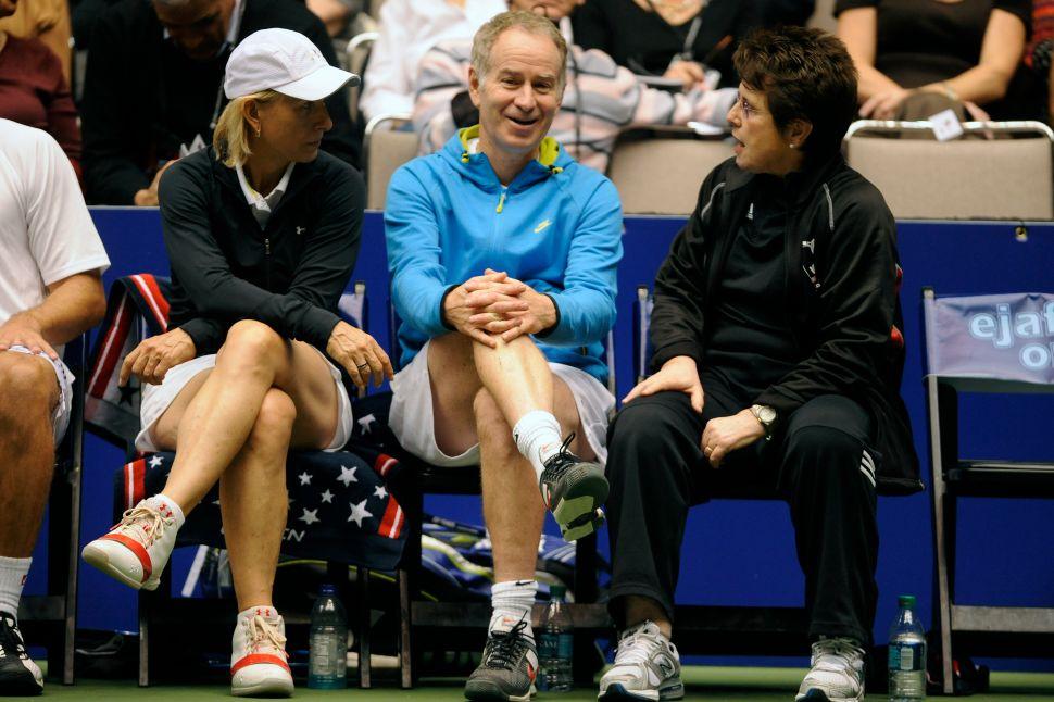 BBC Paid John McEnroe 10 Times More Than Martina Navratilova